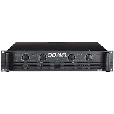 İNTER M QD-4480 POWER AMFİ 4x120watt